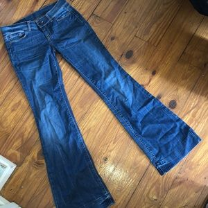 Benetton Low Rise Flare Bootcut Jeans